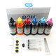 Standard Dye Ink - 100ml x 6 Six-Color Refill Ink for HP (KD600X-CH-LCLM)