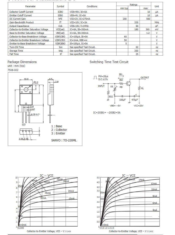 2Sc4342 Marked C4342 NEC Transistor
