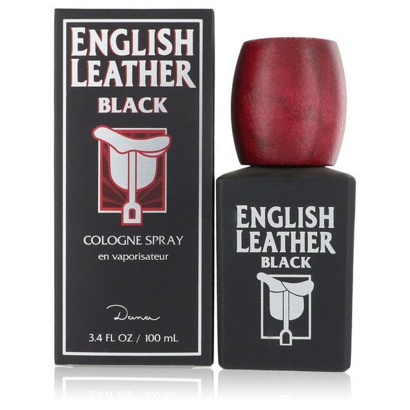 English Leather Black by Dana Cologne Spray 3.4 oz for Men