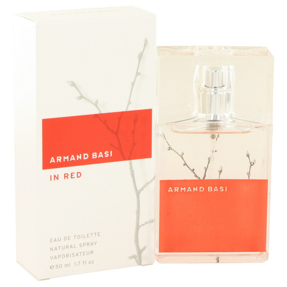 Armand Basi in Red by Armand Basi Eau De Toilette Spray 1.7 oz for Women