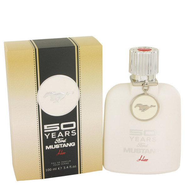 50 Years Ford Mustang by Ford Eau De Parfum Spray 3.4 oz for Women