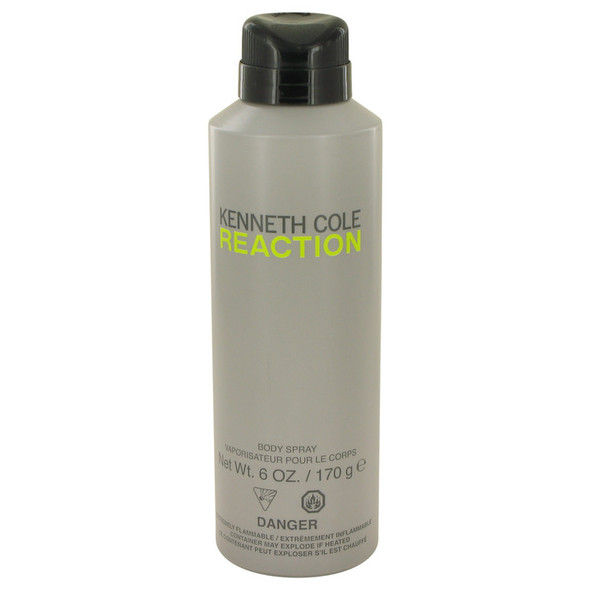 Kenneth Cole Reaction by Kenneth Cole Body Spray 6 oz for Men