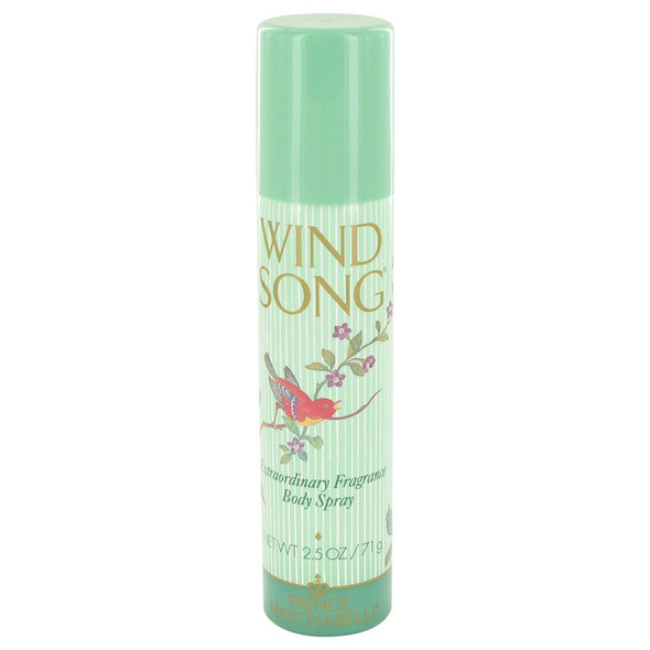 WIND SONG by Prince Matchabelli Deodorant Spray 2.5 oz for Women