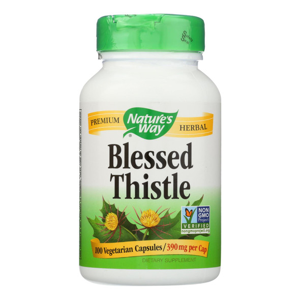 Nature's Way - Blessed Thistle - 100 Vegetarian Capsules