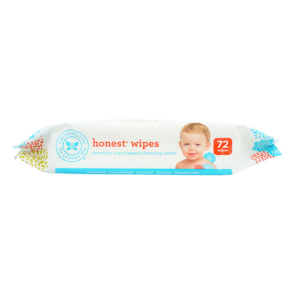 The Honest Company Honest Wipes - Unscented - Baby - 72 Wipes - DB44199413