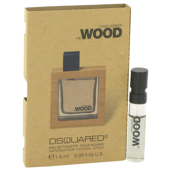 He Wood by Dsquared2 Vial (sample) .05 oz for Men