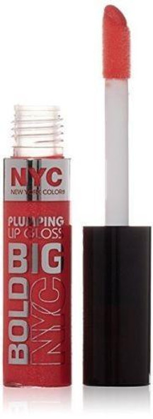 Nyc Big Bold Plumping Lip Gloss, 472 Coral To The Max Choose Your Pack - Pack Of 1