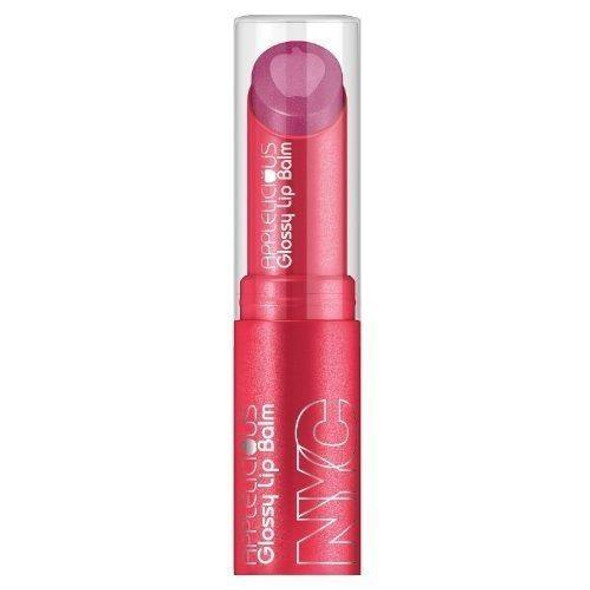 Nyc Applelicious Glossy Moisturizing Lipbalm 357 Apple Blueberry Pie Choose Pack - Pack Of 1