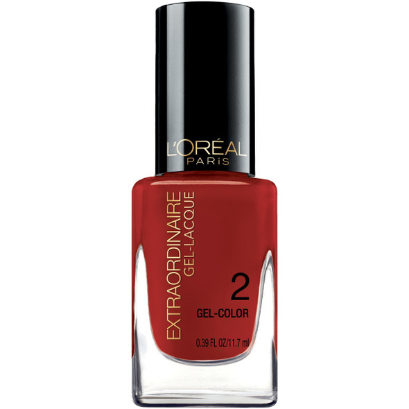L'oreal Extraordinaire Gel-lacquer(choose Your Color) - 711 Red-y To Shine?