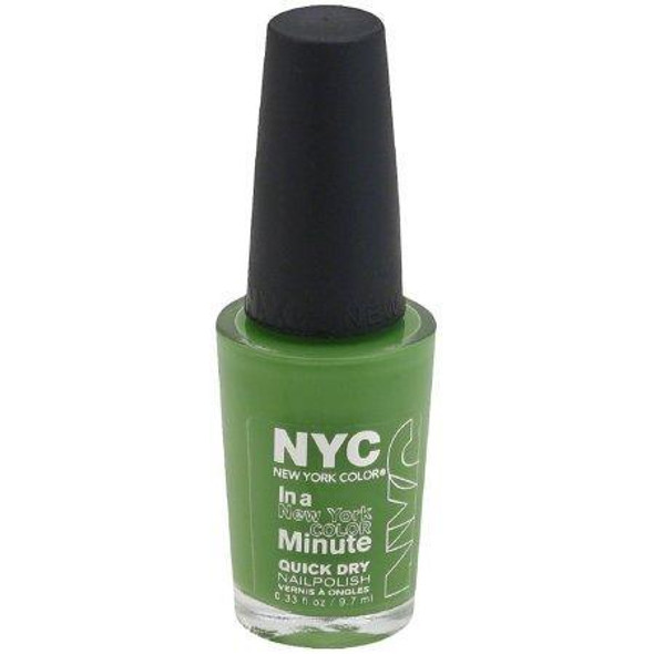 Nyc In A New York Color Minute Quick Dry Nail Polish Choose Ur Color - 298 High Line Green