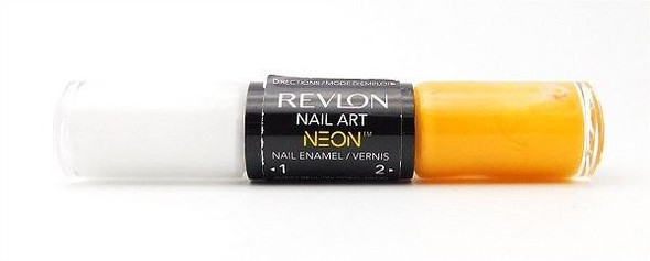 Revlon Nail Enamel Duo Nail Polish, 110 High Voltage Choose Your Pack - Pack Of 1
