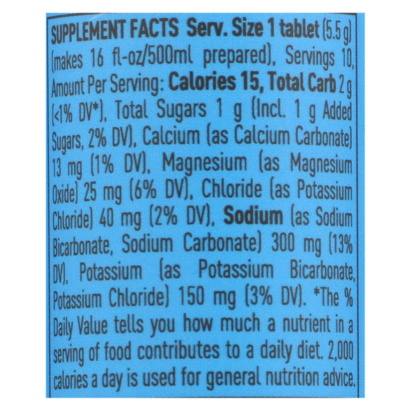 Nuun Hydration Nuun Active - Lemon And Lime - Case Of 8 - 10 Tablets - DB44574438