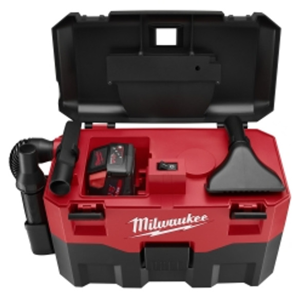 M18 2-gallon Wet / Dry Vacuum W/ 6 Ft. Hose, Crevice Tool, Utility Nozzle (bare Tool)