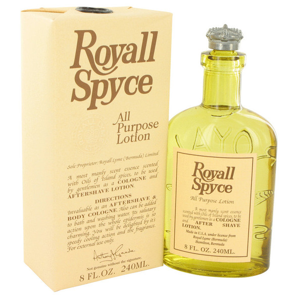 ROYALL SPYCE by Royall Fragrances All Purpose Lotion / Cologne for Men