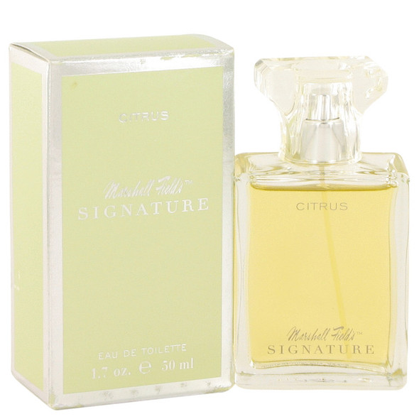 Marshall Fields Signature Citrus by Marshall Fields Eau De Toilette Spray (Unboxed) 3.4 oz for Women
