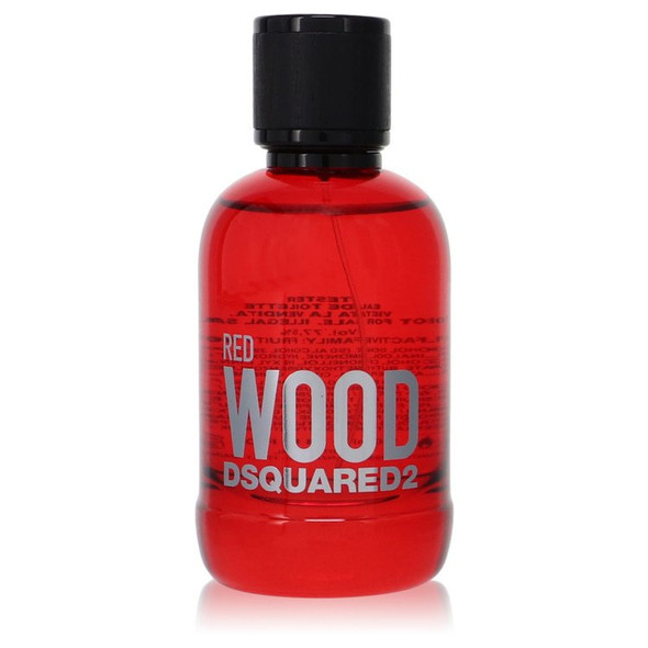 Dsquared2 Red Wood by Dsquared2 Eau De Toilette Spray (Tester) 3.4 oz for Women