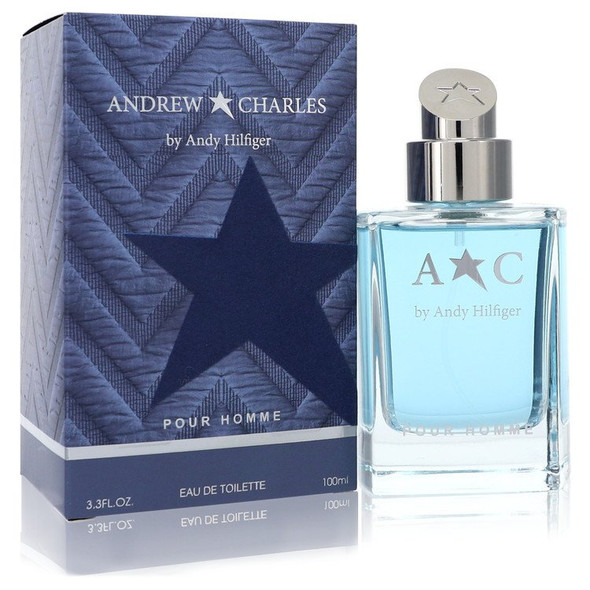 Andrew Charles by Andy Hilfiger Eau De Toilette Spray 3.3 oz for Men