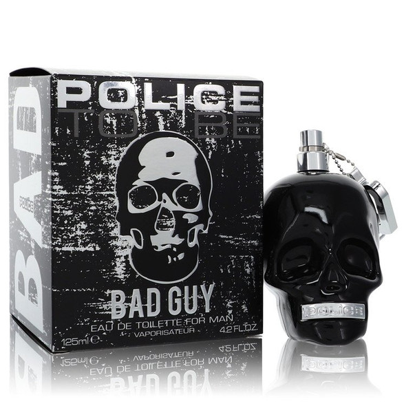 Police To Be Bad Guy by Police Colognes Eau De Toilette Spray 4.2 oz for Men