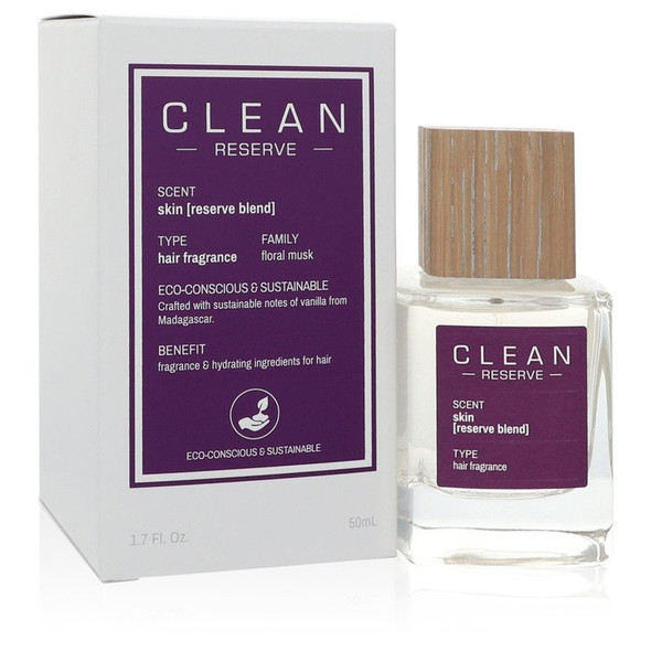 Clean Reserve Skin by Clean Hair Fragrance (Unisex) 1.7 oz for Women