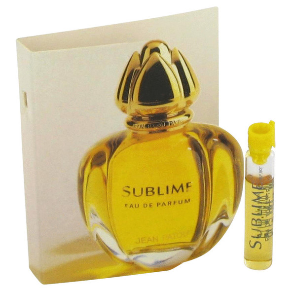SUBLIME by Jean Patou Vial (sample) .05 oz for Women