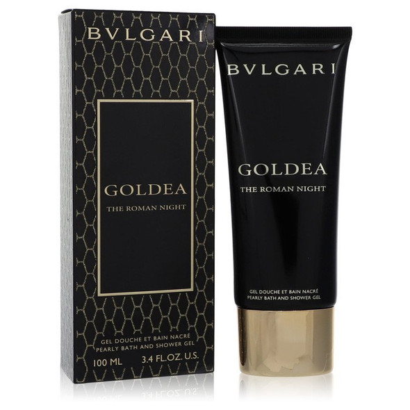 Bvlgari Goldea The Roman Night by Bvlgari Pearly Bath and Shower Gel 3.4 oz for Women