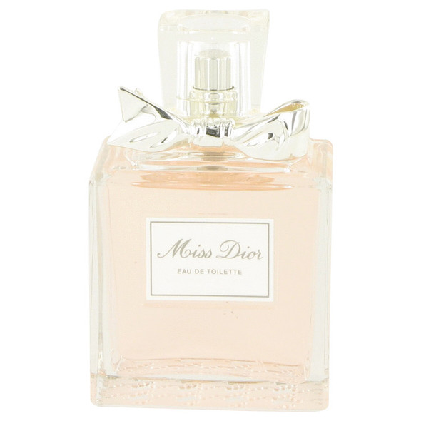 Miss Dior (Miss Dior Cherie) by Christian Dior Eau De Toilette Spray (New Packaging unboxed) 3.4 oz for Women