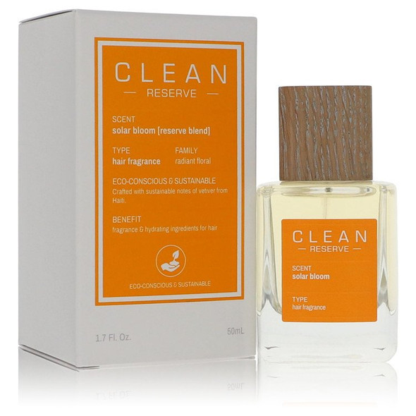 Clean Reserve Solar Bloom by Clean Hair Fragrance (Unisex) 1.7 oz for Women