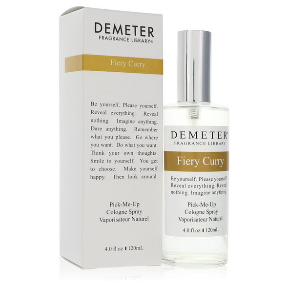 Demeter Fiery Curry by Demeter Cologne Spray 4 oz for Women