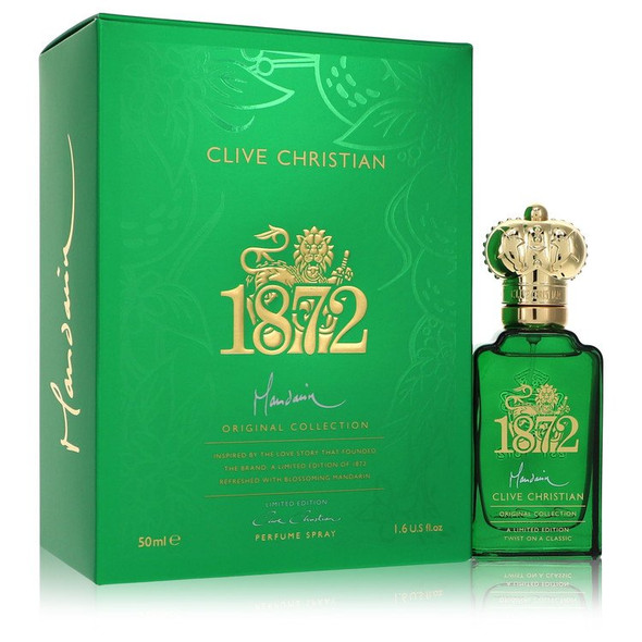 Clive Christian 1872 Mandarin by Clive Christian Perfume Spray (Unisex) 1.6 oz for Men