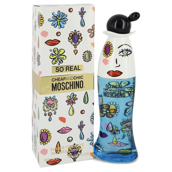 Cheap & Chic So Real by Moschino Eau De Toilette Spray for Women