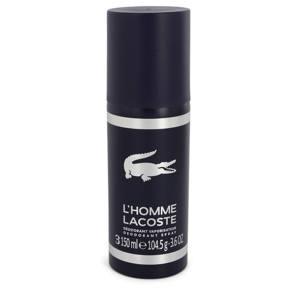 Lacoste L'homme by Lacoste Deodorant Spray 3.6 oz for Men