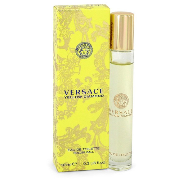 Versace Yellow Diamond by Versace Mini EDT Rollerball  .3 oz for Women