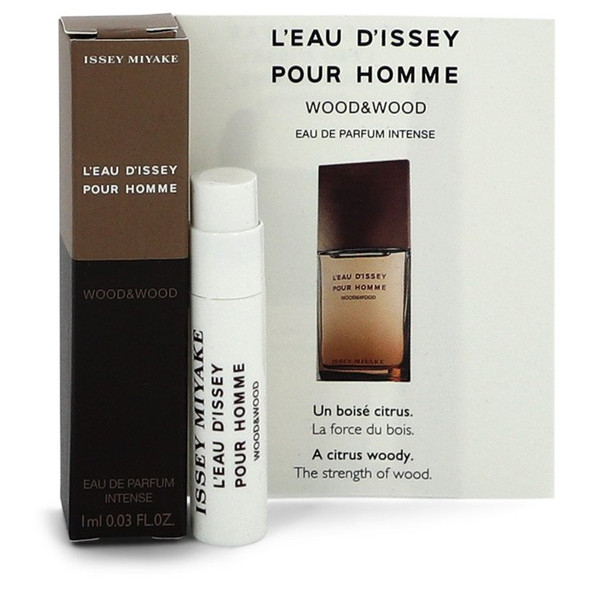 L'eau D'Issey Pour Homme Wood & wood by Issey Miyake Vial (sample) .03 oz for Men