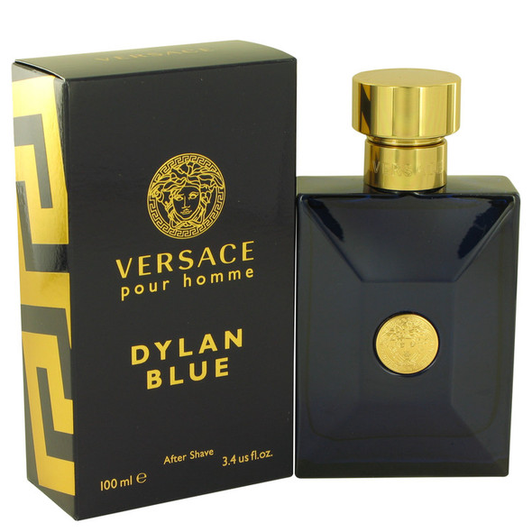 Versace Pour Homme Dylan Blue by Versace After Shave Lotion 3.4 oz for Men