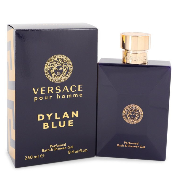 Versace Pour Homme Dylan Blue by Versace Shower Gel 8.4 oz for Men