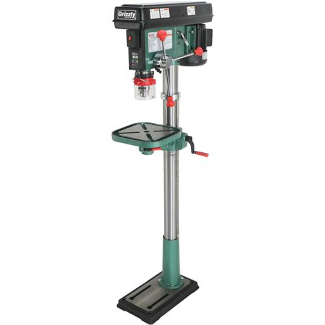 Grizzly G0794 - Floor Drill Press with Laser and DRO