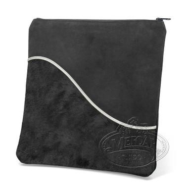 Exceptional Artistry, Modern Style Tallis / Tefillin Bag, Black Fur/Black, FS