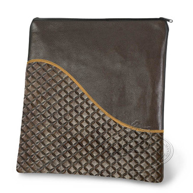 Exceptional Artistry, Modern Style Tallis / Tefillin Bag, Brown, LE