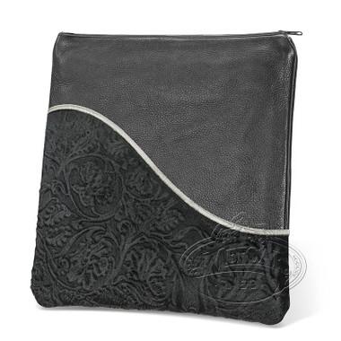 Exceptional Artistry, Modern Style Tallis / Tefillin Bag, Black/Black Premium, LP