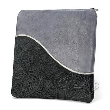 Exceptional Artistry, Modern Style Tallis / Tefillin Bag, Grey/Black Premium, LP
