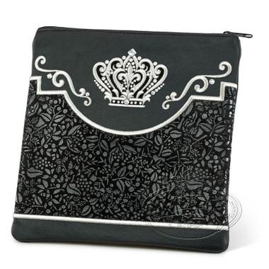 Dignified Grace, Elegant Style Tallis / Tefillin Bag, Black, LE