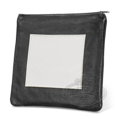 Refined Patterns, Modern Style Tallis / Tefillin Bag, Black/White, LL