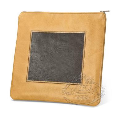 Refined Patterns, Modern Style Tallis / Tefillin Bag, Camel/Brown, LL