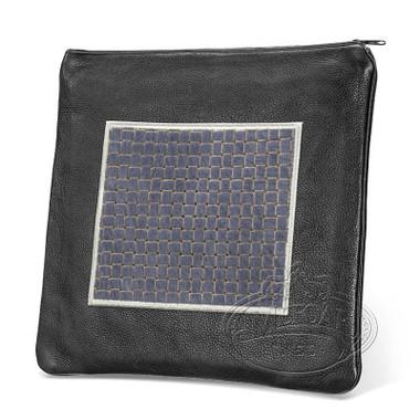 Refined Patterns, Modern Style Tallis / Tefillin Bag, Black/Grey Premium , LP
