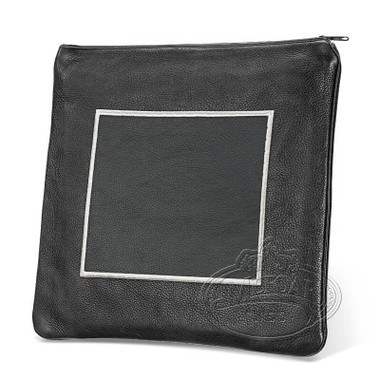 Refined Patterns, Modern Style Tallis / Tefillin Bag, Black, LR