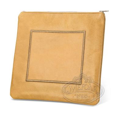 Refined Patterns, Modern Style Tallis / Tefillin Bag, Camel, LR