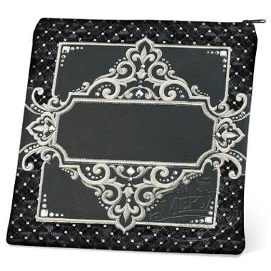 Rich Textures, 331 Style Tallis / Tefillin Bag, Black/Black Velvet, LR