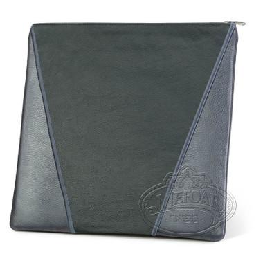 Supreme Finery, Modern Style Tallis / Tefillin Bag, Grey/Black, LL