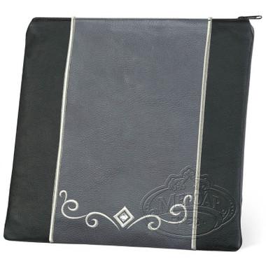 Expert Craftsmen, Classic Style Tallis / Tefillin Bag, Black/Grey, LL
