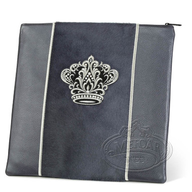 Highest Nobility, Elegant Style Tallis / Tefillin Bag, Grey/Grey Fur, LF